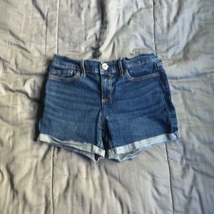 Abercrombie Dark Wash Jean Shorts